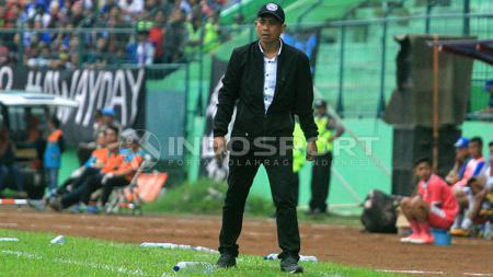 Pelatih Arema FC Joko Susilo. - INDOSPORT