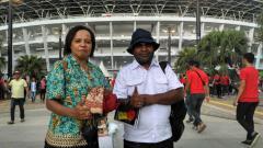 Indosport - Suporter asal Papua