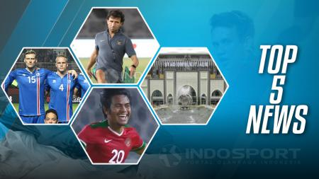 Top 5 News. - INDOSPORT
