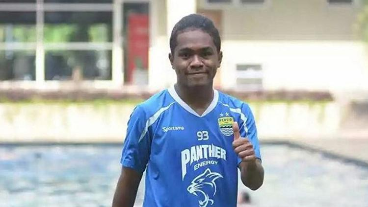 Fulgensius Billy Paji Keraf pemain Persib Bandung Copyright: Istimewa