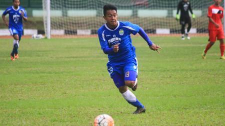 Pemain Persib Bandung, Febri Haryadi. - INDOSPORT