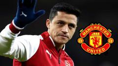 Indosport - Alexis Sanchez Gabung MU?