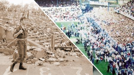 Stadion Heysel dan Hillsborough Roboh. - INDOSPORT