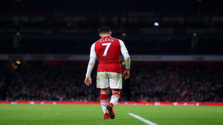 Bintang Arsenal, Alexis Sanchez. - INDOSPORT