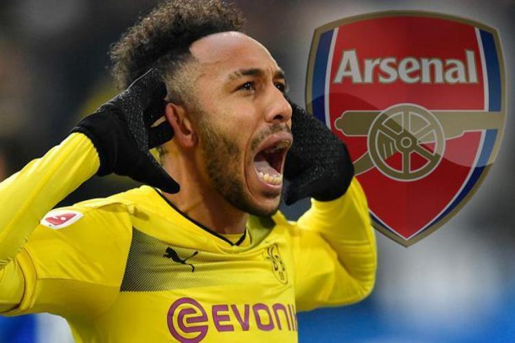 Arsenal membidik Aubameyang untuk gantikan Sanchez. Copyright: The Sun