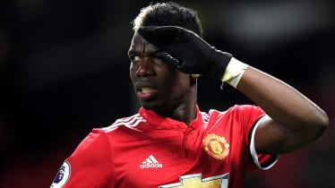 Gelandang Man United, Paul Pogba. - INDOSPORT