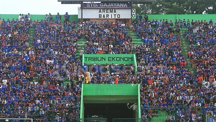 Stadion Gajayana Malang diplot sebagai venue Arema FC. Copyright: Ian Setiawan/INDOSPORT
