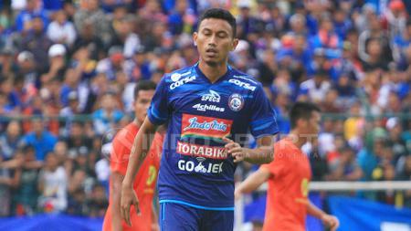 Penyerang Arema FC, Rifaldi Bawuoh. - INDOSPORT