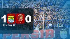 Indosport - Hasil Pertandingan Persib Bandung vs Sriwijaya FC.