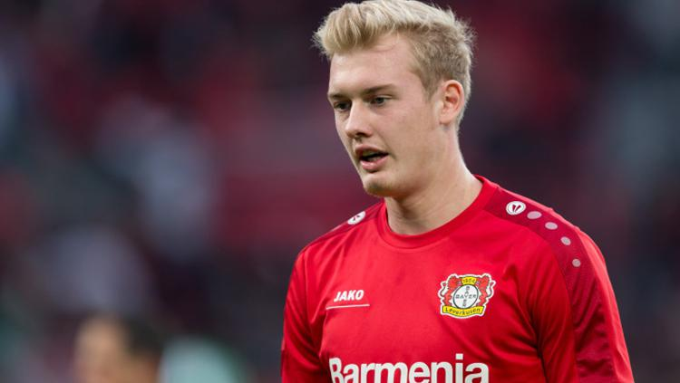 Pemain muda Bayer Leverkusen, Julian Brandt. Copyright: INDOSPORT