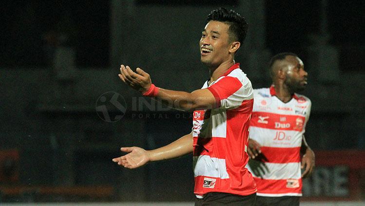 Beny Wahyudi, fullback Madura United Copyright: Ian Setiawan/INDOSPORT