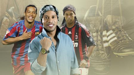 Ronaldinho resmi gantung sepatu. - INDOSPORT
