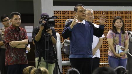 Komisaris Jenderal (Komjen) Pol Syafruddin yang merupakan Chief de Mission (CdM) Kontingen Indonesia untuk Asian Games 2018. - INDOSPORT