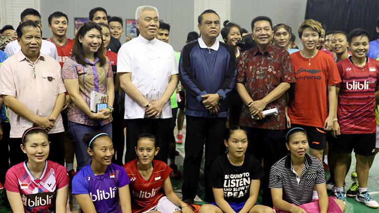 Komisaris Jenderal (Komjen) Pol Syafruddin yang merupakan Chief de Mission (CDM) Kontingen Indonesia untuk Asian Games 2018. Copyright: HUMAS PBSI