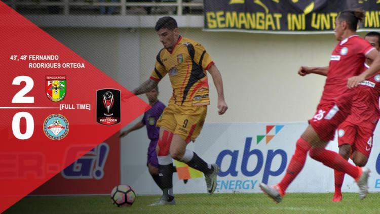 Mitra Kukar vs Martapura Copyright: Gafis:Yanto/Indosport/@Liga1Match