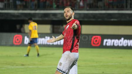 Ilija Spasojevic, striker Bali United - INDOSPORT