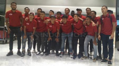 Home United, tiba di Makassar untuk ikuti PSM Super Cup Asia - INDOSPORT