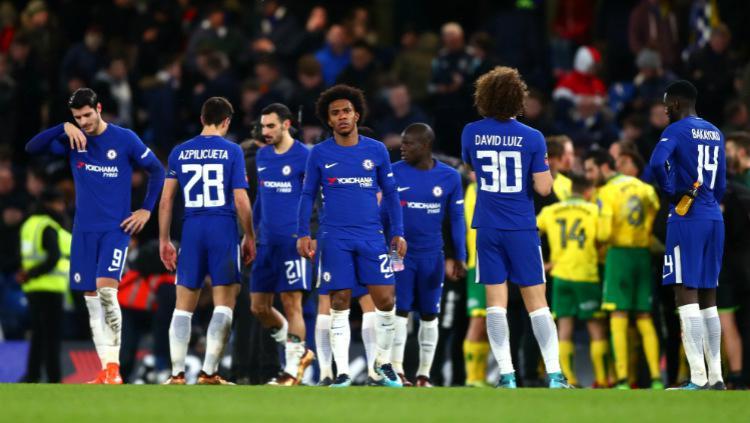 Chelsea vs Norwich City Copyright: INDOSPORT
