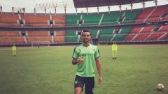 Indosport - Otavio Dutra saat jalani latihan.
