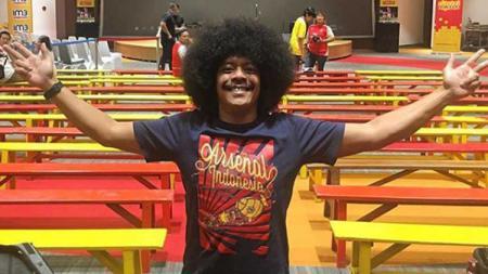 Eddi Brokoli, Fans Arsenal Indonesia. - INDOSPORT