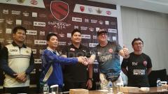 Indosport - Jumpa pers antara PSM Makassar vs Home United di Laga Perdana Super Cup Asia.