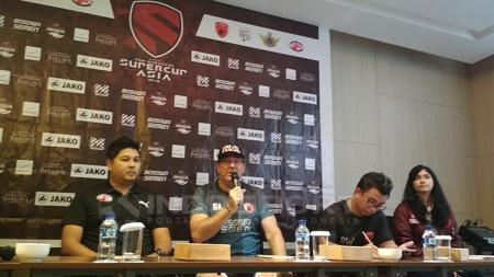 Jumpa pers antara PSM Makassar vs Home United di Laga Perdana Super Cup Asia - INDOSPORT