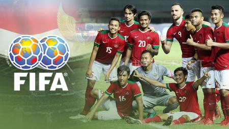 Ranking FIFA Indonesia. - INDOSPORT