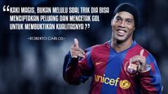 Indosport - Mantan penggawa Barcelona, Ronaldinho.