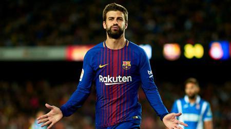 Pemain Barcelona, Gerard Pique. - INDOSPORT