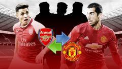 Indosport - Henrikh Mkhitaryan dan Alexis Sanchez.