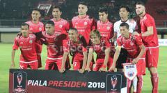 Indosport - Persija Jakarta vs PSPS Riau.