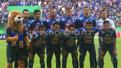Indosport - Skuat Arema FC.