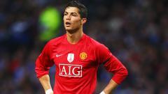 Indosport - Cristiano Ronaldo saat masih bermain di Man United.