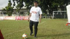 Indosport - Indra Sjafri, pelatih kepala tim AIA Championship 2018.