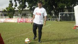 Indra Sjafri, pelatih kepala tim AIA Championship 2018.