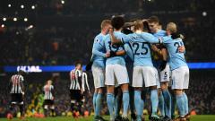 Indosport - Selebrasi Pemain man City