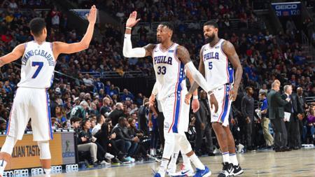 Milwaukee Bucks v Philadelphia 76ers. - INDOSPORT