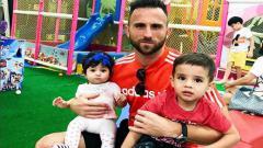 Indosport - Spasojevic dan kedua anaknya