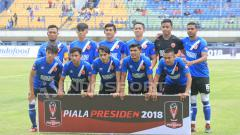 Indosport - Sriwijaya FC vs PSM Makassar