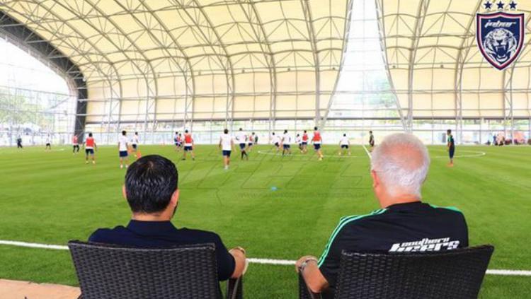Ini Lapangan Tempat Mario Gomez melatih sebelum ke Persib Bandung Copyright: Johor Darul Takzim Facebook