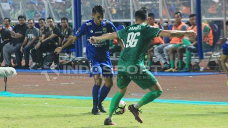 PSMS Medan vs Persib Bandung di Piala Presiden 2018. - INDOSPORT