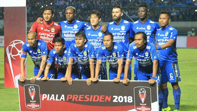 PSMS Medan vs Persib Bandung Copyright: Arif Rahman/INDOPSORT