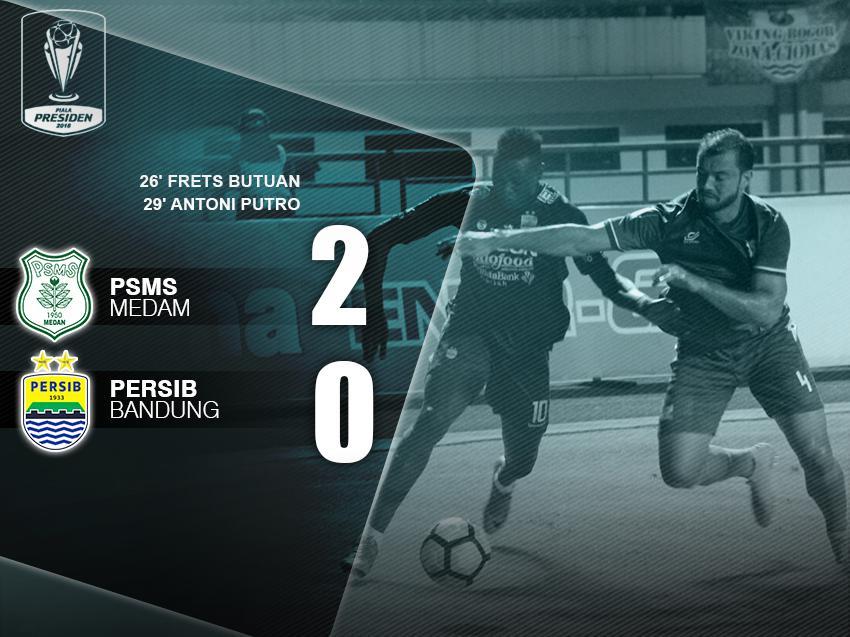 PSMS Medan vs Persib Bandung Copyright: INDOSPORT