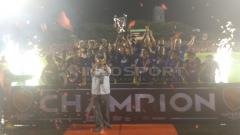 Indosport - PSM Makassar juara Asia Super Cup 2018.