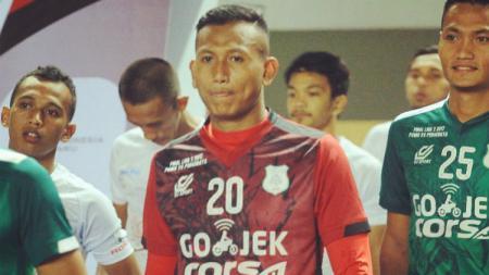 Abdul Rohim, penjaga gawang PSMS Medan yang jagokan Timnas Spanyol di Piala Dunia 2018. - INDOSPORT