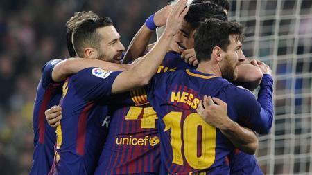 Betis vs Barcelona.. - INDOSPORT