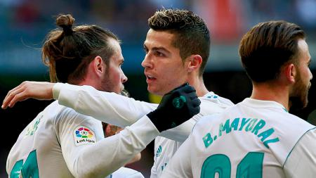Gareth Bale kesurupan Cristiano Ronaldo hingga bisa buat Tottenham Hotspur jadi Real Madrid hingga obat Corona versi CR7, berikut top 5 news INDOSPORT hari ini. - INDOSPORT
