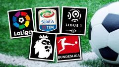 Indosport - Logo Hasil Liga Elite Eropa.