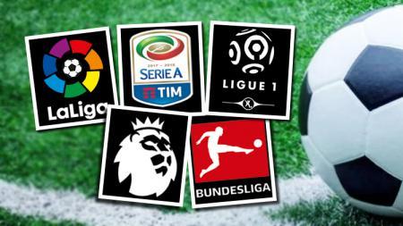 Logo liga top Eropa. - INDOSPORT