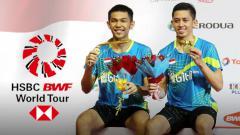 Indosport - Fajar Alfian dan Muhammad Rian Ardianto.